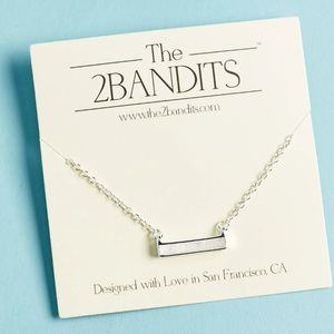 The 2 Bandits Athens Necklace NWT